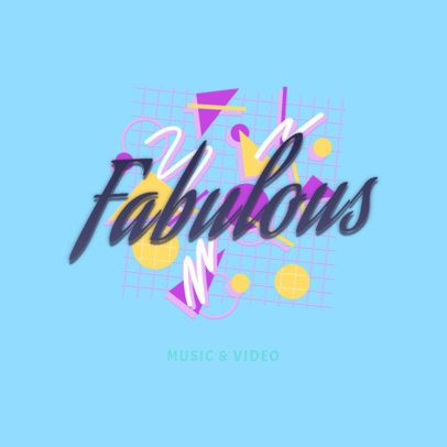 Online Logo Creator with an '80s Look 2616d
