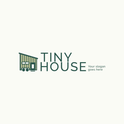 Logo Template for a Tiny Houses Projects Company 2630