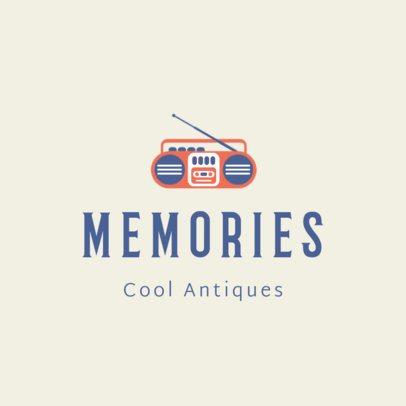Online Logo Maker for a Vintage and Antique Store 1326h 33-el