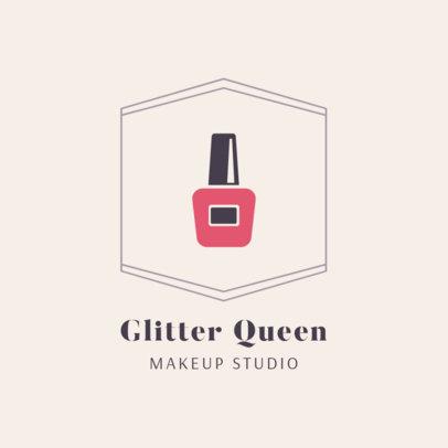 Online Logo Generator for a Makeup Studio 2214f 48-el