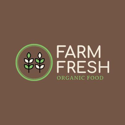 Online Logo Maker for an Organic Food Store 1190h 78-el