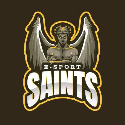 Online Logo Maker Featuring an Evil Angel 2633c