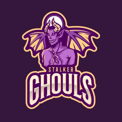 Logo Maker of an Evil Spirit 2633k