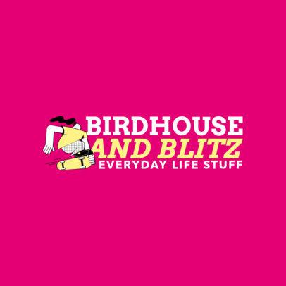 Logo Design Creator for a Skatewear Line with a Santa Cruz Inspiration 2626c