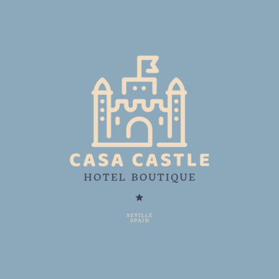 Logo Maker for a Boutique Hotel 2330h-73-el
