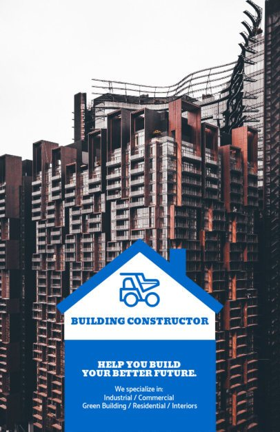 Flyer Design Template for Building Construction Companies 285f 62-el