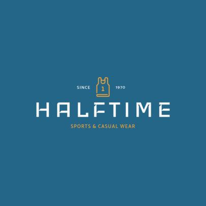 Online Logo Generator for Sportswear Brands 1329g 92-el