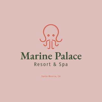 Minimal Logo Maker for a Spa Resort 1761i 106-el