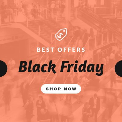 Banner Generator for Black Friday Offers 746h 72-el