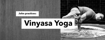 Facebook Cover Template for a Yoga Studio 1976a