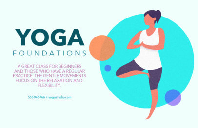 Flyer Generator for Yoga Foundations 1978a