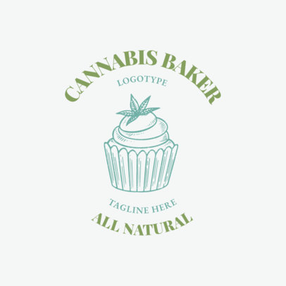 Logo Template for a Cannabis Sweets Bakery 2647e