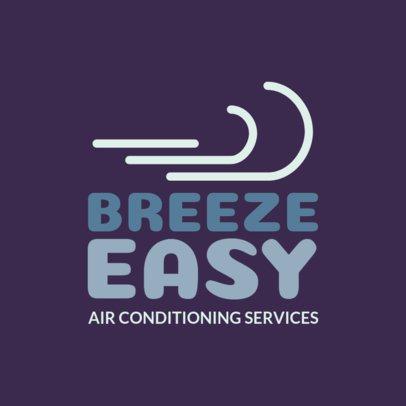 Online Logo Generator for Air Conditioning Companies 1179g 123-el