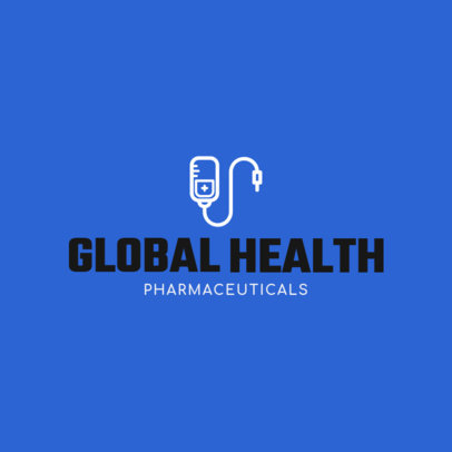 Medical Logo Generator for a Pharmaceutical Company 1172g 79-el