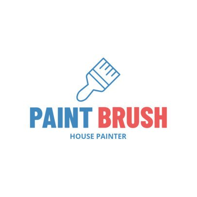 Logo Maker for a Painting Company 1446f-111-el