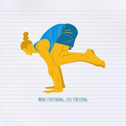 Yoga-Themed Instagram Post Generator 1975a