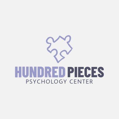 Minimalist Logo Maker for a Psychology Center 1304f-37-el