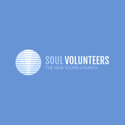 Minimal Church Logo Maker for Youth Groups 1771f