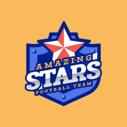 Logo Generator for a Sports Championship with a Star Emblem 2703b