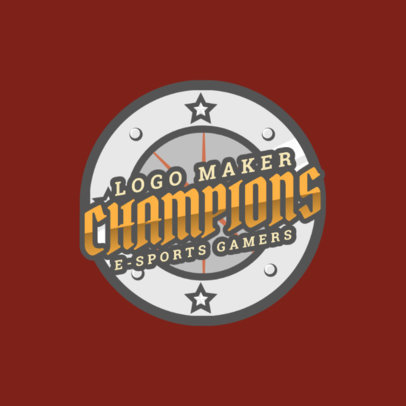 Sports Logo Generator with a Shield Graphic