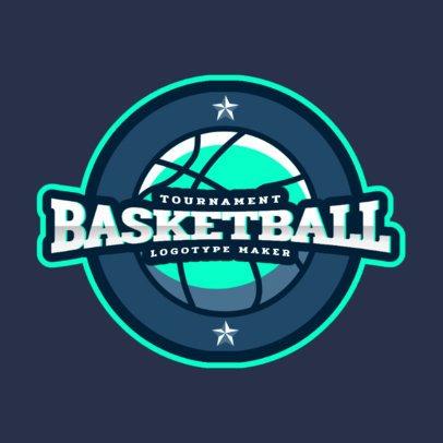 Online Logo Maker for a Basketball Tournament 2702b