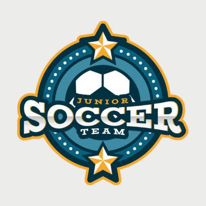 Soccer Logo Maker for a Junior Team