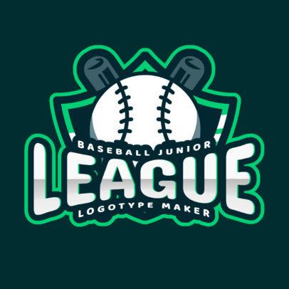 Baseball Logo Template for a Junior League