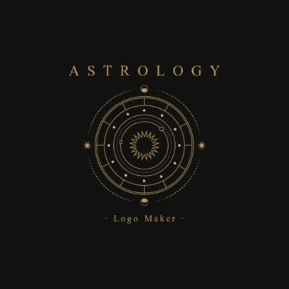 Astrology Logo Maker 2662