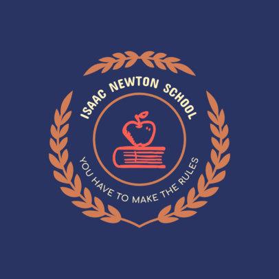 School Logo Maker with a Slogan 1088g 38-el