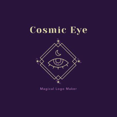 Magical Logo Maker featuring a Cosmic Eye 2662g