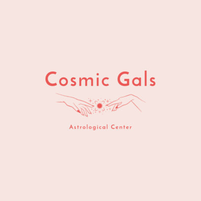 Online Logo Template for an Astrological Center 2662f