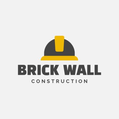 Online Logo Maker for a Construction Company