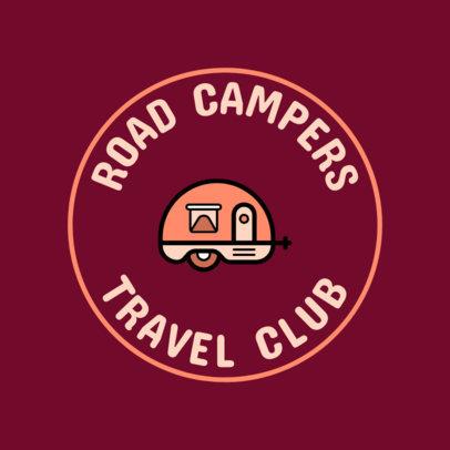 Logo Maker for a Travel Club