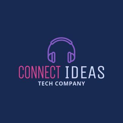 Online Logo Generator for Music Technology Companies 1252k 146-el