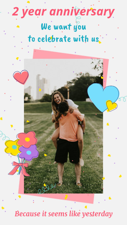 Instagram Story Maker for a Lovely Party Announcement 1989c-el