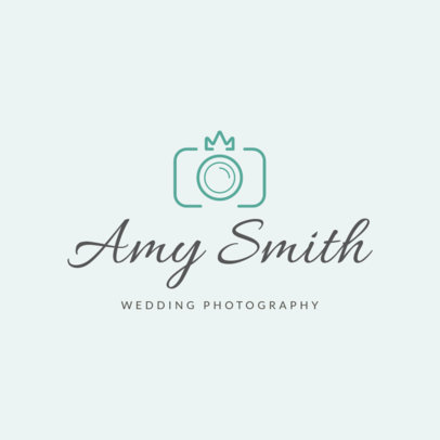 Online Logo Maker for Wedding Photographers 1196l-103-el