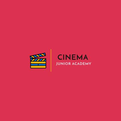 Online Logo Maker for a Cinema Academy 1298g-147-el