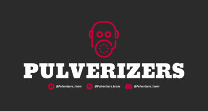 FPS Twitch Banner Maker with a War Graphic 1456g 202-el