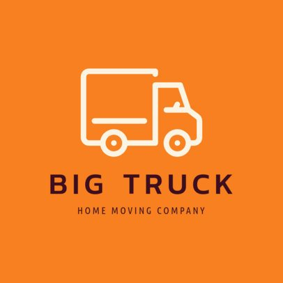 Moving Company Logo Maker with a Truck Icon 1385g-141-el