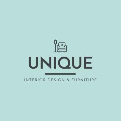 Minimalist Logo Creator for a Furniture Store 1330l 142-el