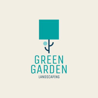 Abstract Logo Template for Landscaping Services 1435i 2697
