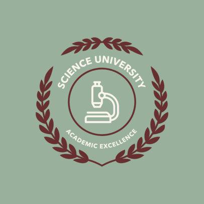 Logo Template for Science Universities 1088h 114-el