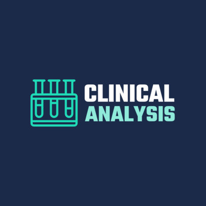 Clinical Analysis Laboratory Logo Template 1172i 114-el