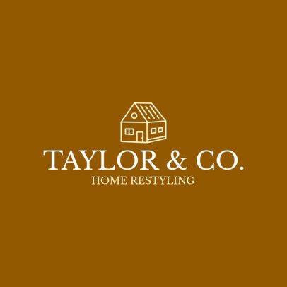 Logo Generator for Home Remodeling Companies 1431h 120-el