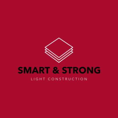 Online Logo Template for Construction Companies 1175h 120-el