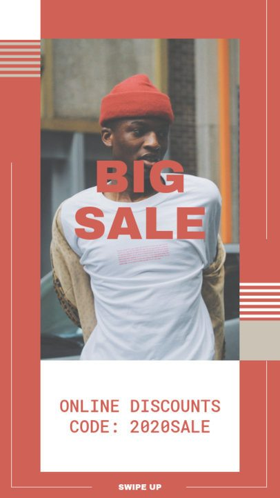 Instagram Story Maker for a Big Sale Announcement 9a-el