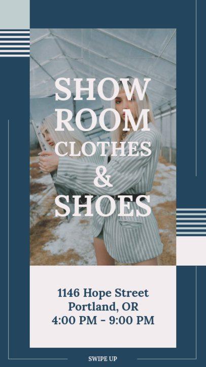 Instagram Story Maker for a Clothing Brand Sale 9c-el