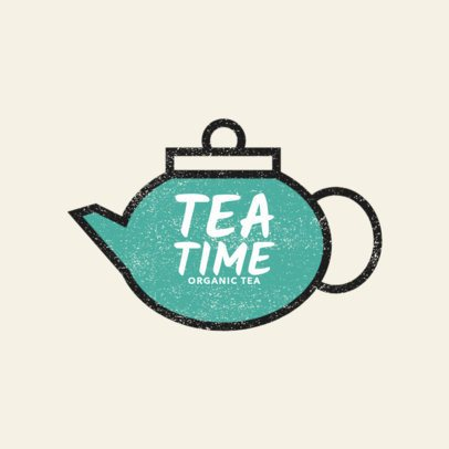 Online Logo Maker for an Organic Tea Brand 1125f 173-el