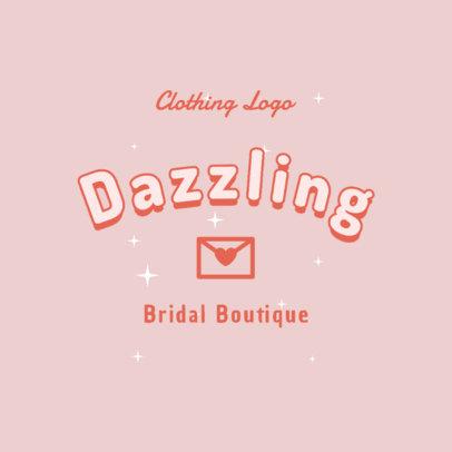 Feminine Logo Maker for a Bridal Boutique 2736i