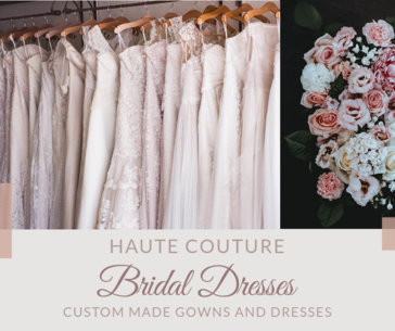 Wedding Facebook Post Template for a Bridal Dresses Boutique 2007a